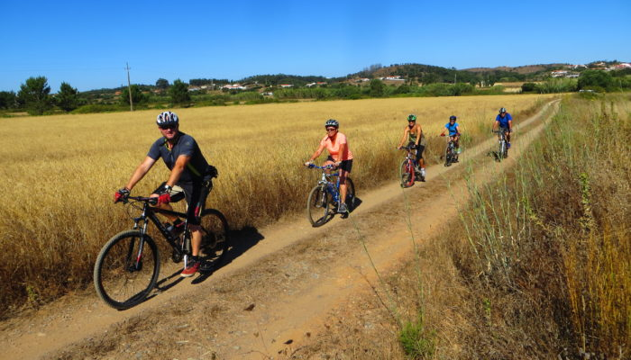 Fun for all ages and fitness levels on a bike with Sandy Toes Algarve