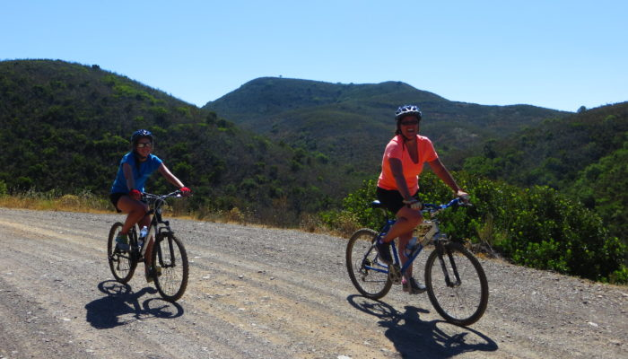 Cycling in Southern Portugal with Sandy Toes