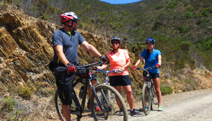 Wooded Mountains of Algarve on a locally guided bike tour