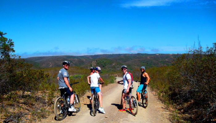 Algarve, Portugal hillside bike rides with friends
