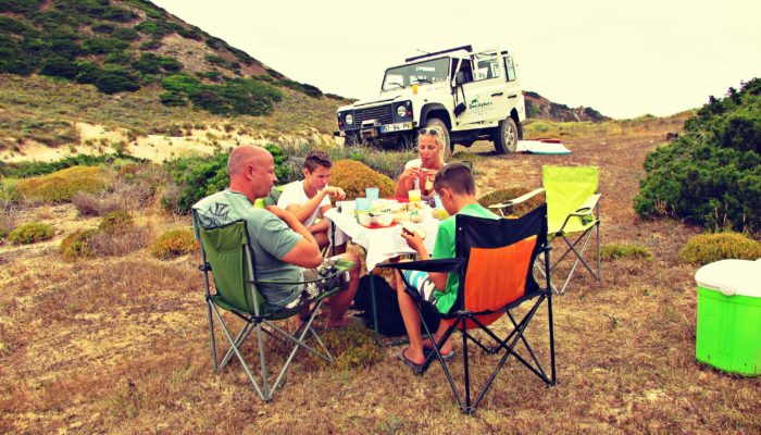 Family Jeep adventure in scenic Algarve